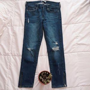 Banana Republic Petite Skinny Jeans